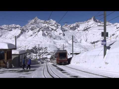 La Suisse en Train_Mars 2014 (2/4) Zermatt Gornergrat