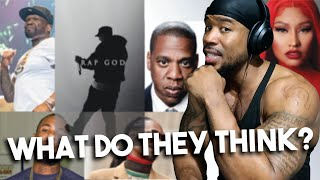 MARSHALL MONDAY - WHAT THE OTHER RAPPERS THINK ABOUT EMINEM - REACTION!!!