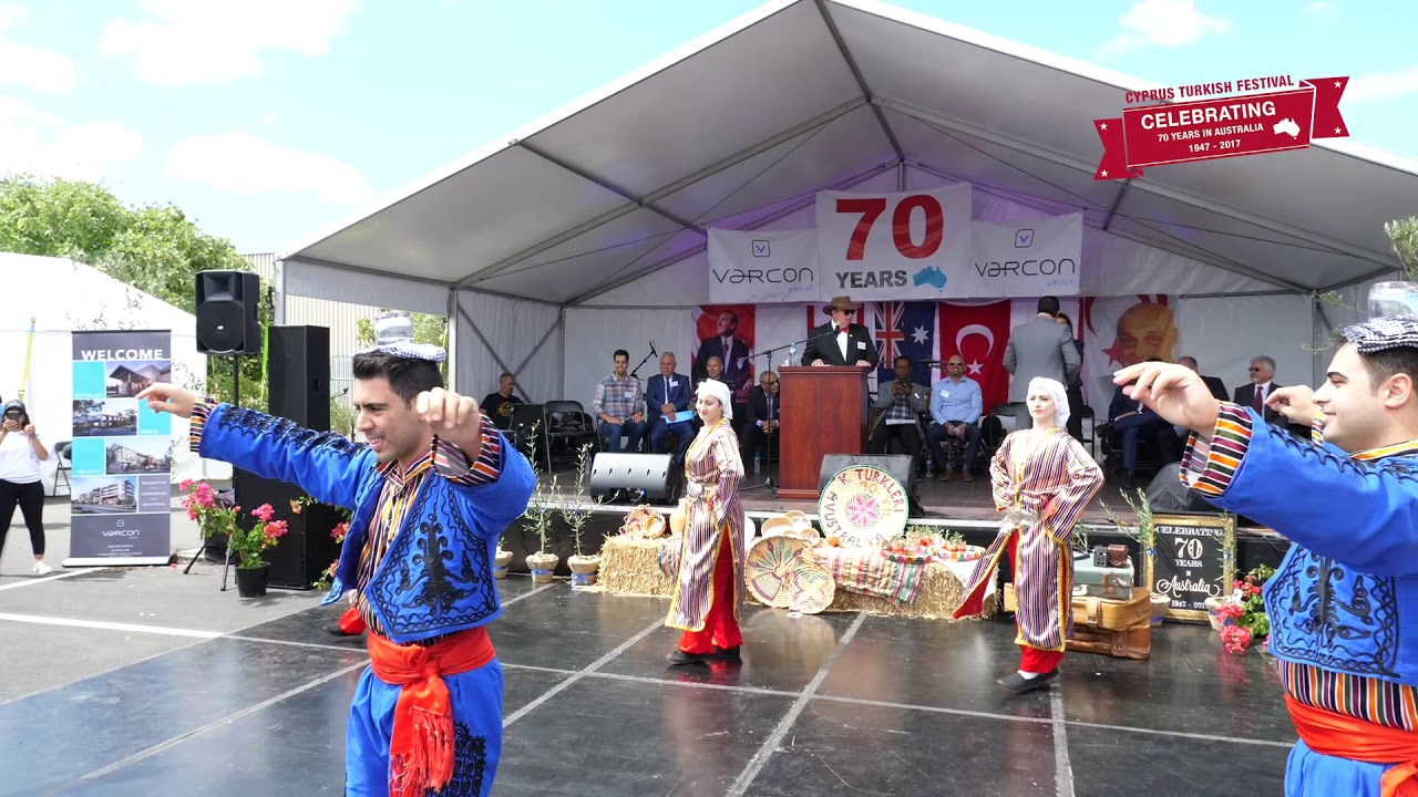 Cyprus Turkish Festival Folk Dancing