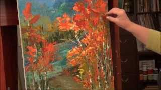 acrylic painting techniques youtube