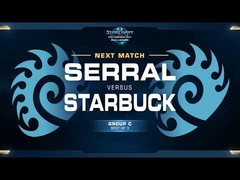 Serral vs Starbuck ZvZ - WCS Challenger 2018 Season 1 – Europe