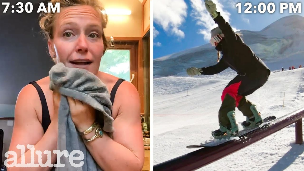 Download A Snowboarder's Entire Routine, from Waking Up to Hitting The Slopes   Allure