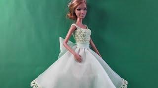 Урок кроя и шитья юбки для Барби. Мастер-класс.