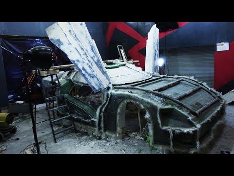 Quadra V-Tech из Cyberpunk 2077. Матрицы кабины. Часть 6