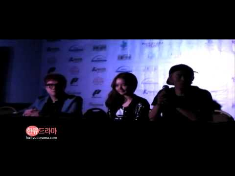 [090713 Fancam] Kpop Republic Presscon - Crispi Cruch and Soomin (April Kiss)