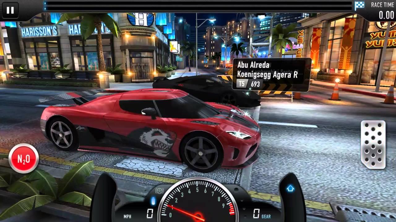 Csr Racing Lamborghini Sesto Elemento Vs Koenigsegg Agera R Youtube