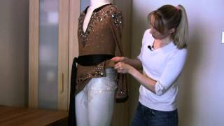 Keeping the Latin Shirt from Riding Up - Ballroom Dance Fashions Tip #7