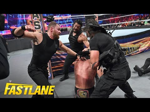 Roman Reigns unleashes his fury against The Shield's foes: WWE Fastlane 2019 (WWE Network Exclusive) thumbnail