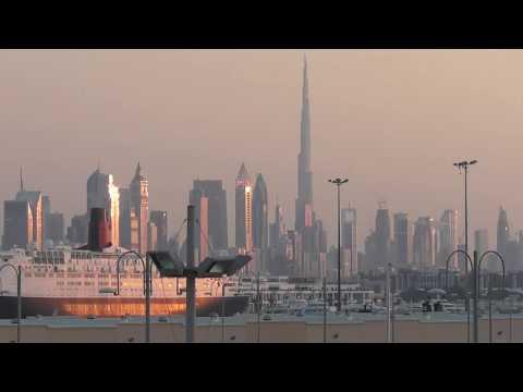 2019-12-05 Dubai – Busfahrt von Burj Khalifa zur MS Europa