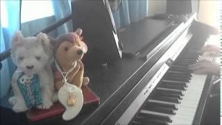 クマムシさんのアイドルソングのネタの あったかいんだから~ をピアノ...