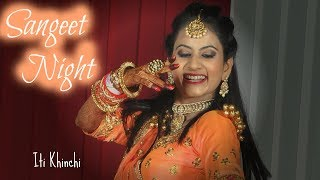 Bride Solo Dance | Sangeet Night  | Iti Khinchi Choreography