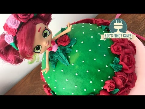 Shopkins doll cake Rosie Bloom buttercream cakes
