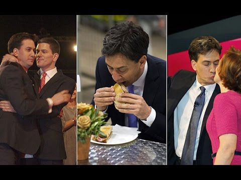 The awkward history of Ed Miliband