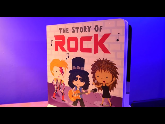 The story of Rock book promo