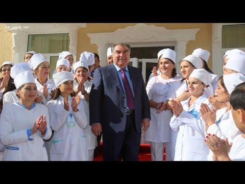 Президент Таджикистана посетил Согдийскую область