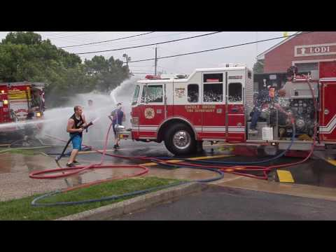 Lodi, Nj Fire Dept Hose Company #2 Wetdown