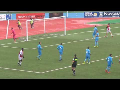 Serie D Girone D. Rimini vs Villabiagio 2-0