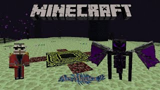 Minecraft Ars Magica 2 1.2 ~ Ender Guardian + Mithion Commentary Part 1