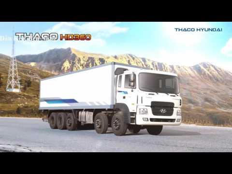 Xe Ti Trng Hi 3 Ch n Thaco Hyundai HD210, 4 Ch n Thaco HD320, 5 Ch n Thaco HD360 Gi Tt