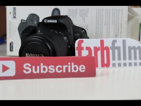 Menü Review: Canon Eos 700d | Kamera/ Technik | German HD