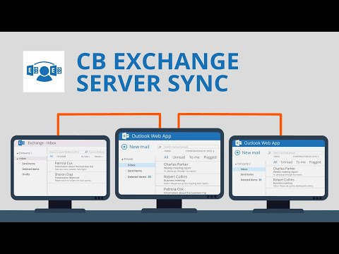 How to easily sync multiple O365 Outlook / Exchange accounts
