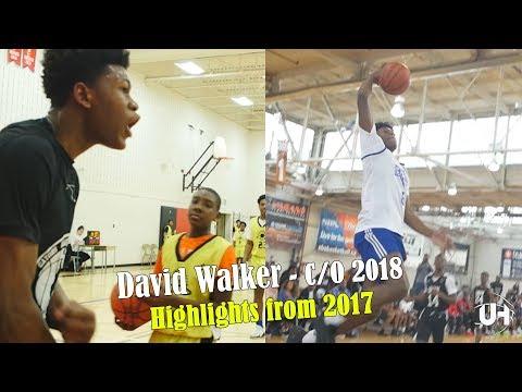 David Walker - C/O 2018 | Highlights from 2017