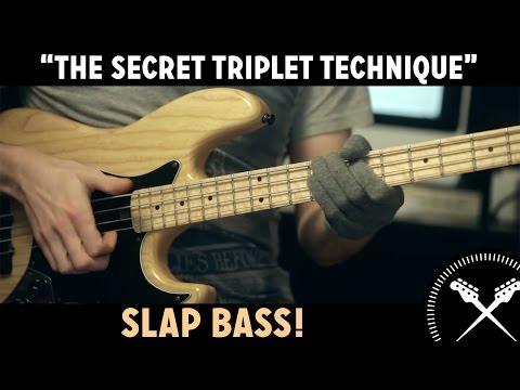 Slap Bass Lesson - 'The Secret Triplet Technique' (L#84)