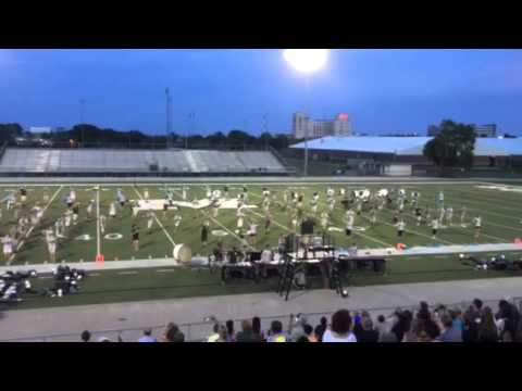 2015 Pride of Mel High Band Camp Performance