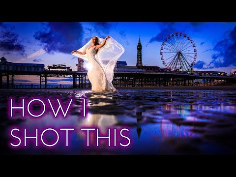 HOW I SHOT THIS | Bride portraits on the beach