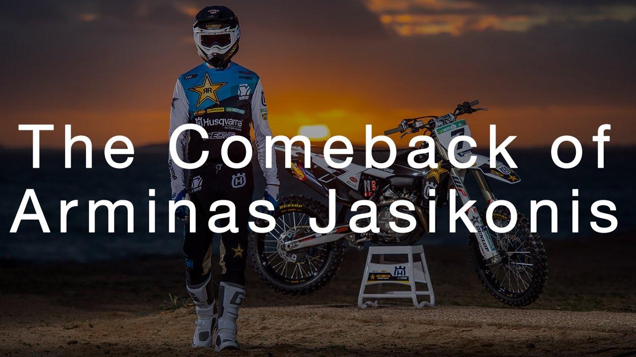 Drop the Gate Episode 1 - The Comeback of Arminas Jasikonis | Husqvarna Motorcycles