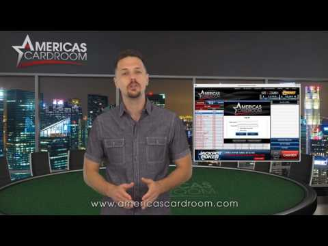How To Create An Account At Americas Cardroom
