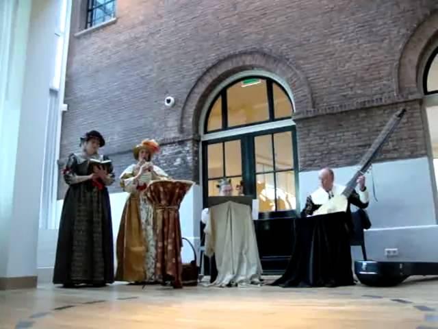 CLARA OSCURA in het Dordrechts Museum, 26-12-2010 - De nacht, de moeder van de rust