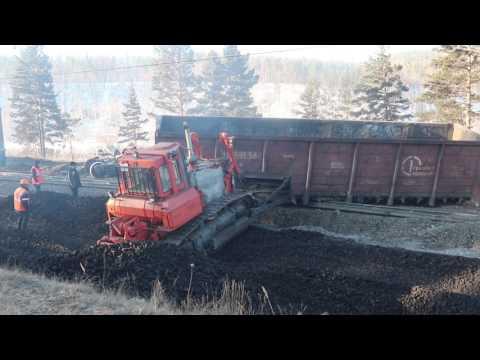 Сход вагонов в Забайкалье