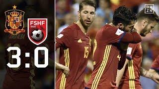 La Roja löst WM-Ticket! Spanien - Albanien 3:0   Highlights   WM-Quali  DAZN