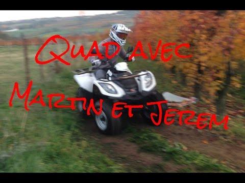 Quad : Retour de Jerem, Un défi à la con et du Gazz !