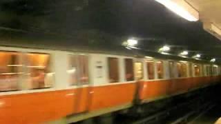 MBTA Orange Line at Downtown Crossing