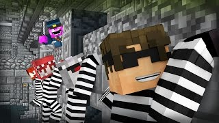 Minecraft Mini-Game: COPS N ROBBERS! (RED...WTH ARE YOU DOING?) /w Facecam