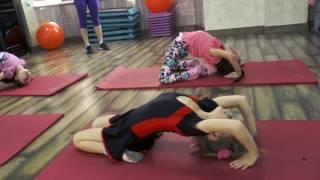Оздоровительная гимнастика для детей в СОК TRIUMPHER г.Талгар