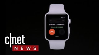 Apple Watch Series 3 lets you make calls, stream music sans iPhone (CNET News)