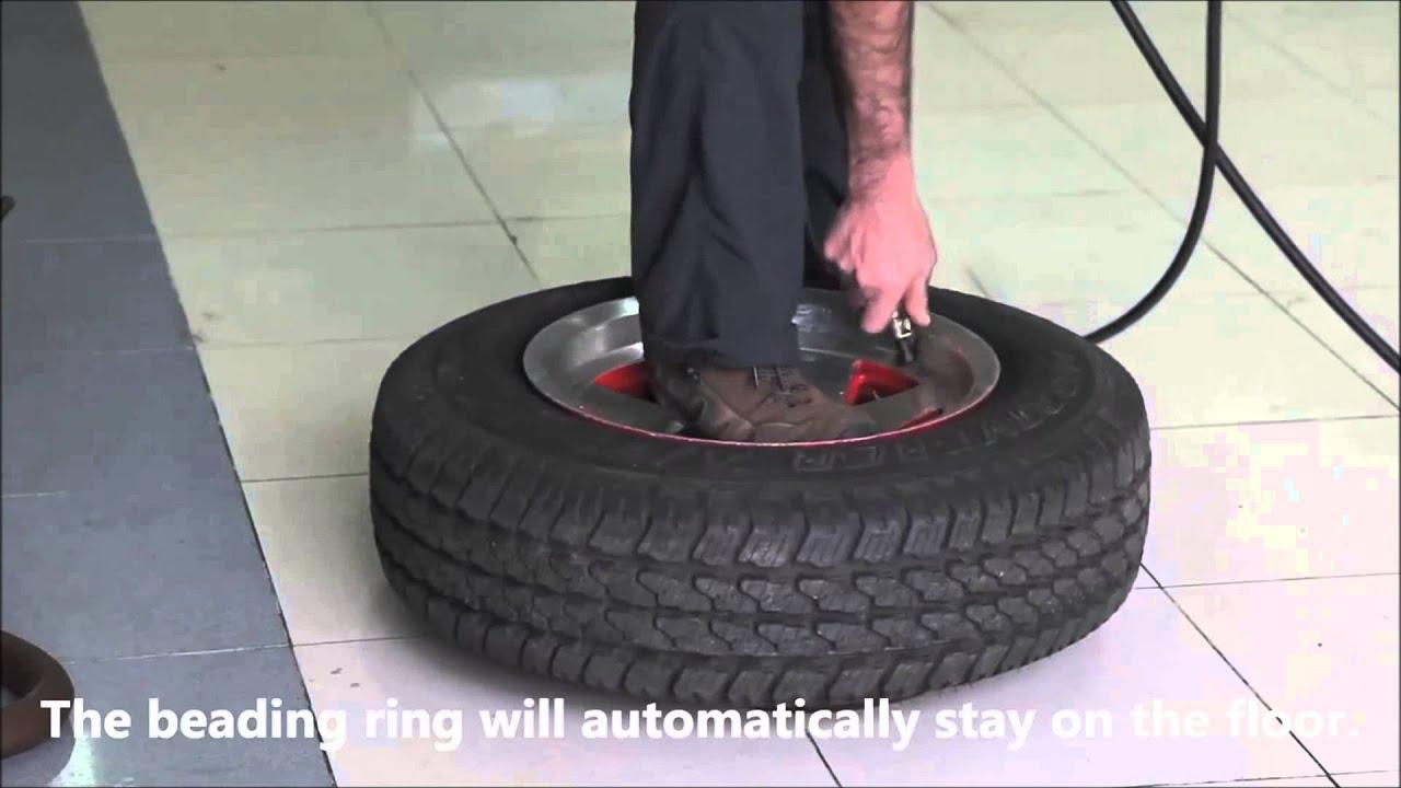 Types Of Vans >> TIRE BEADING RING - YouTube