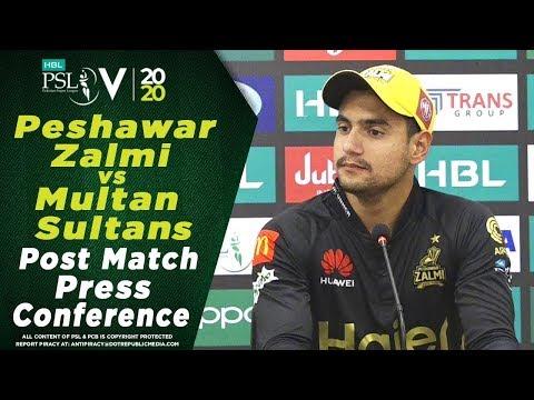 Haider Ali Post Match Press Conference | Peshawar Zalmi vs Multan Sultans | HBL PSL 2020