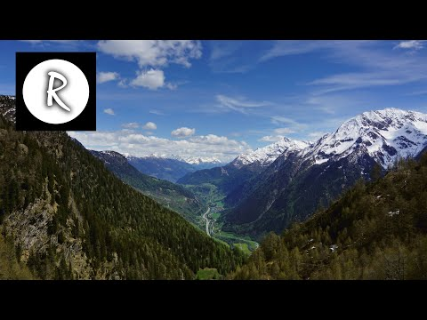 Beautiful Switzerland Nature Aerial for Spa & Relaxation - Stunning 4K, to get grounded