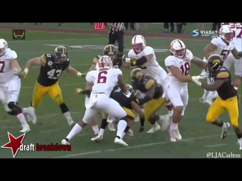 Christian McCaffrey vs. Iowa (2015)