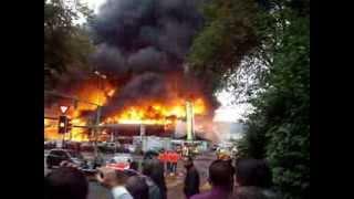 grossbrand schlieren  feuer zürich badenerstrasse.90
