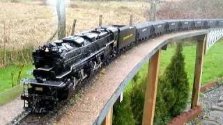 Aster Allegheny on the SVRR with coal load