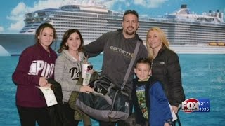 Family returns home after nightmare cruise trip