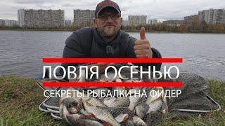 Рыбалка на фидер Секреты ловли осенью Ловим много рыбы