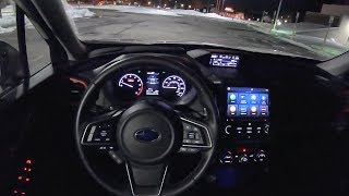 2019 Subaru Forester Sport - POV Night Driving Impressions