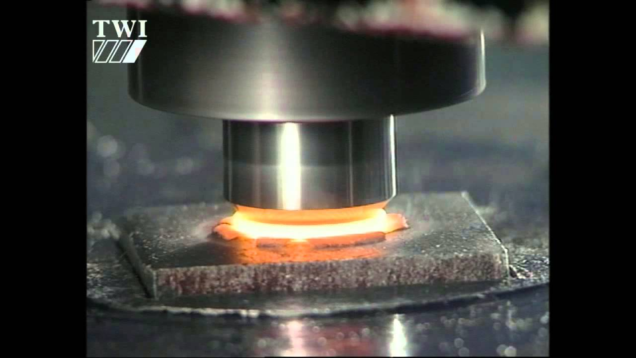 Friction Stir Welding >> Friction stud welding - YouTube