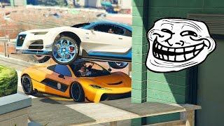 CARRERA TROLL!! YA ESTA PORFAVOR!! - CARRERA GTA V ONLINE - GTA 5 ONLINE